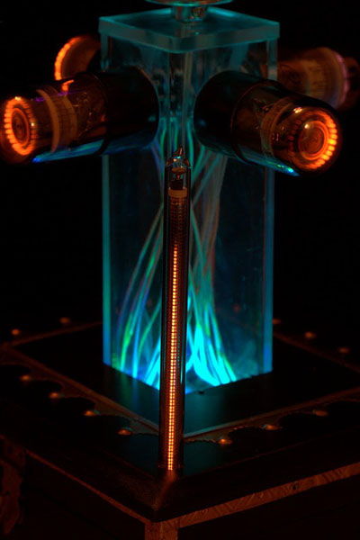 Dekatron LED  Argon Sculpture