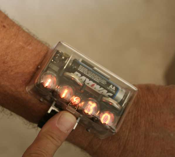 Jeff Thomas Nixie Watch