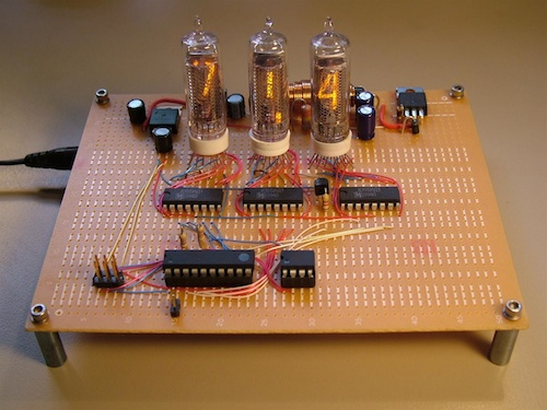 AVR Nixie Thermometer