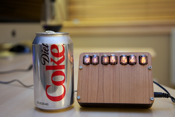 Cogwheel IN-17 Nixie Clock