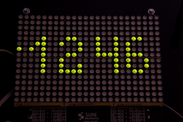 LED Matrix DOTKLOK