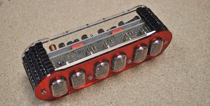 Manuela Nixie Clock