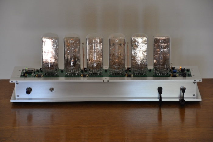 Magic eye nixie clock
