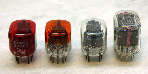 Nixie Tube Comparison
