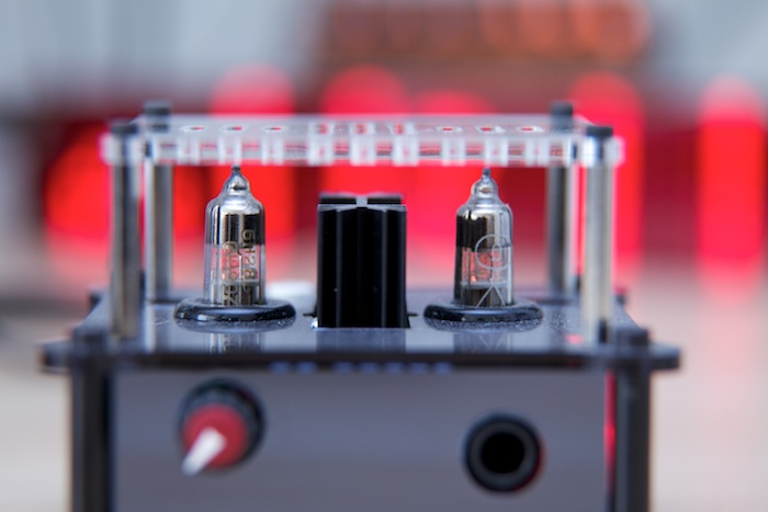 Headphone amplifier tube amp triode