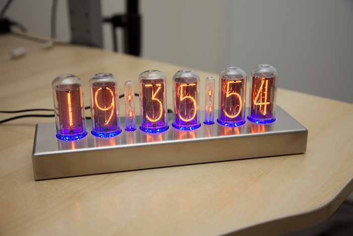 IN 18 Nixie Clock