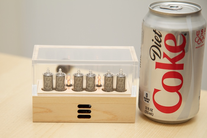 6 digit wood nixie clock