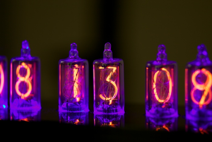 Little Blue Something Nixie Clock