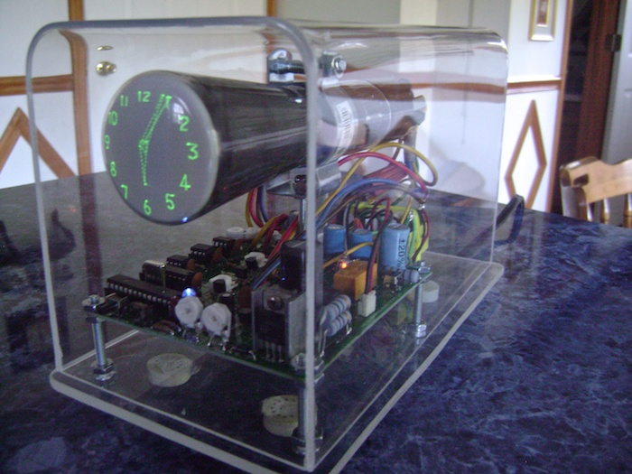 Oscilloscope CRT Scope Clock