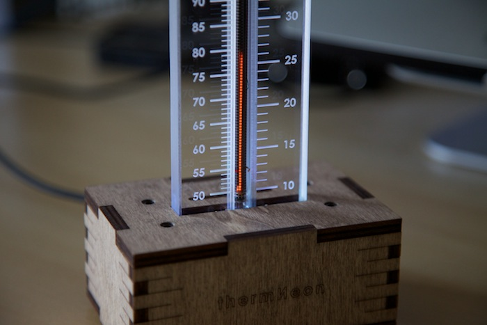 thermNeon Nixie Thermometer