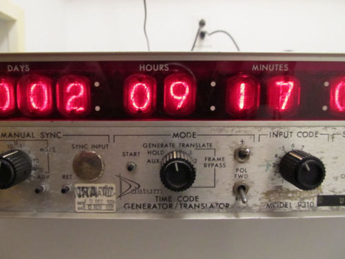 datum lab nixie clock time code generator