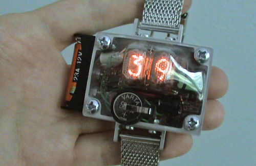 eBay Nixie Watch