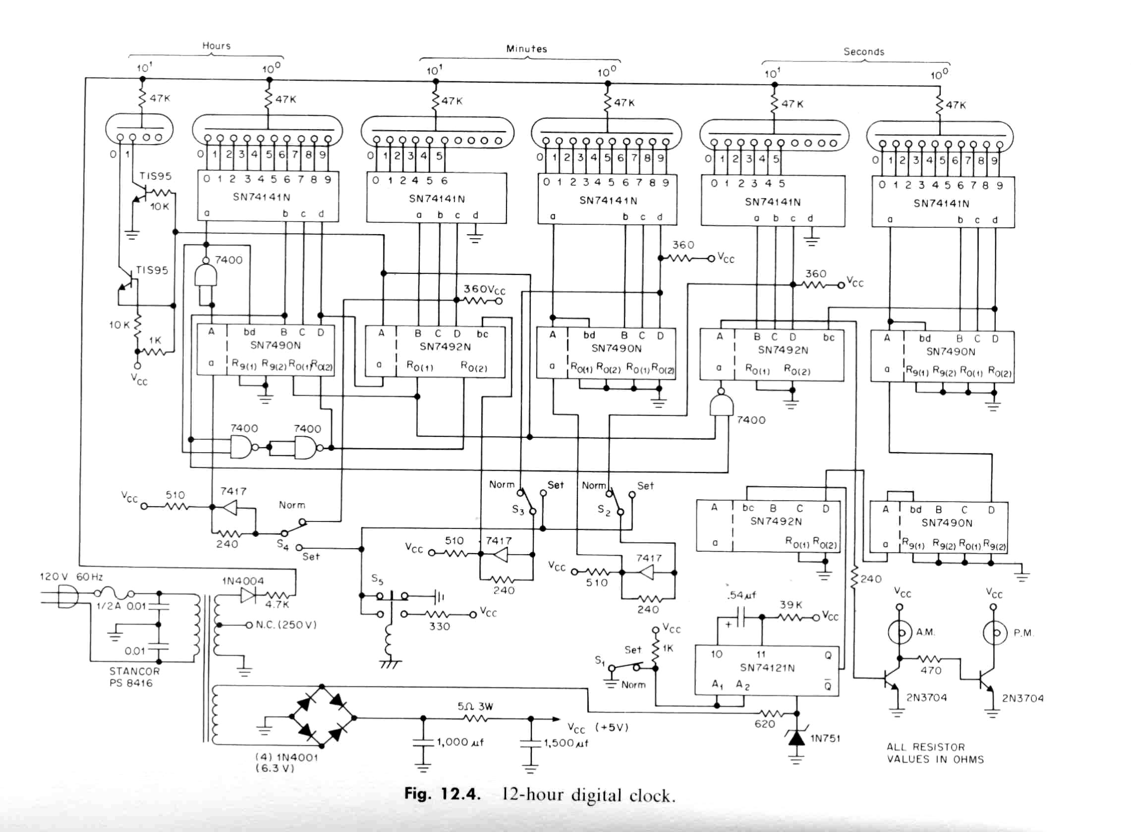 Clock Radio Schematic Great Design Of Wiring Diagram Tube Get Free Image About